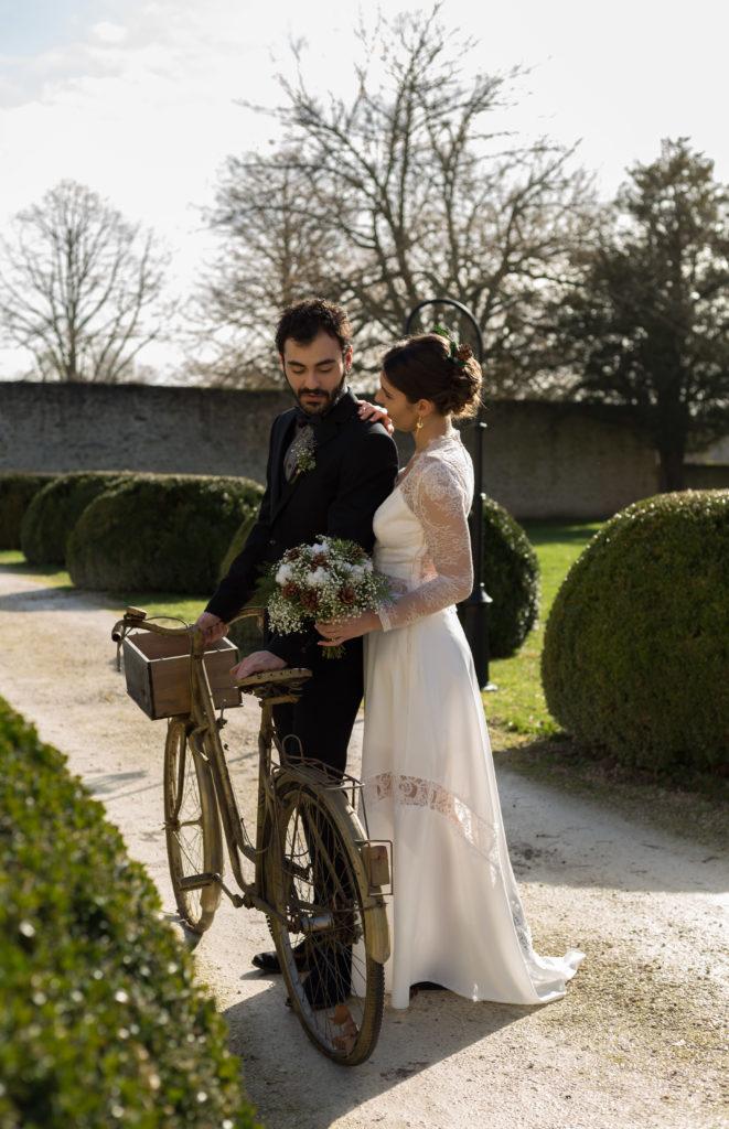 photographies mariage en hiver